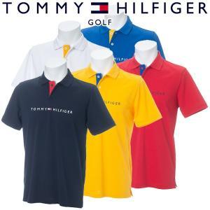 トミーヒルフィガー ゴルフウェア メンズ 半袖ポロシャツ THMA932 2019春夏 30%OFF|g-zone