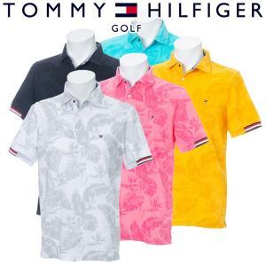 トミーヒルフィガー ゴルフウェア メンズ 半袖ポロシャツ THMA944 2019春夏 30%OFF|g-zone