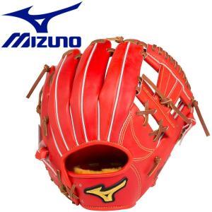 ミズノ スピードドライブテクノロジー 硬式用 内野手用4/6:サイズ9 グラブ 1AJGH1420352|g-zone