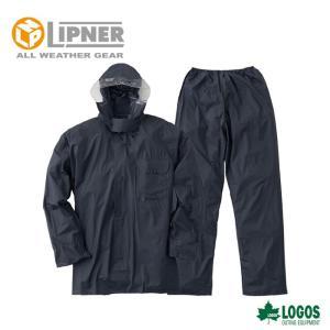 LIPNER リプナー ビニールスーツ 0.15B ネイビー 2101528 レインウェア メンズ|g-zone