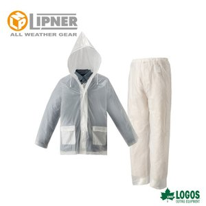 LIPNER リプナー ザックレインスーツジュニア クリア 2371500 レインウェア ジュニア