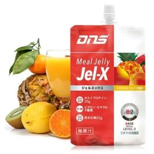 DNS ジェルエックスJel-X トロピカルフルーツ風味 285g×6個入り g-zone