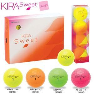 キャスコ KIRA SWEET ゴルフボール 1ダース レディース