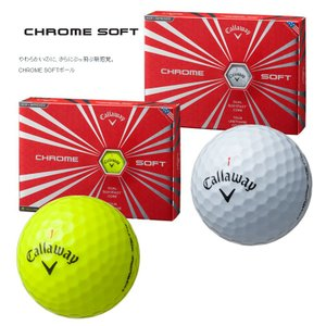 キャロウェイ クロムソフト ゴルフボール 1ダ...の詳細画像1