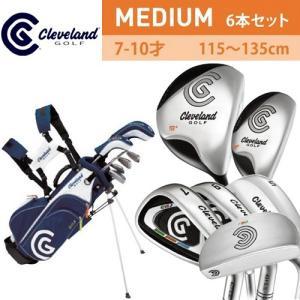 クリーブランドゴルフ ジュニアクラブ 6本セット MEDIUM 年齢7-10才 身長115-135cm CGJM6S|g-zone