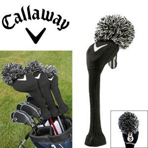 キャロウェイ ヴィンテージ ヘッドカバー フェアウェイウッド用 C20588 ブラック ゴルフ アクセサリー USAモデル|g-zone