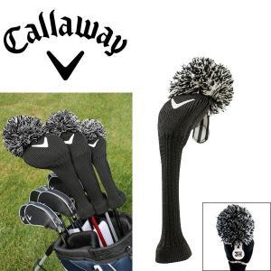 キャロウェイ ヴィンテージ ヘッドカバー ユーティリティ用 C20589 ブラック ゴルフ アクセサリー USAモデル|g-zone