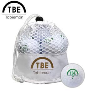 TOBIEMON 飛衛門 とびえもん ゴルフボール メッシュバッグ入りスタンダード2ピースボール 1ダース 12球入 公認球 g-zone