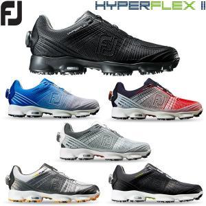 フットジョイ ハイパー フレックス2 ボア ゴルフシューズ メンズ HYPER FLEX II Boa 19sbn|g-zone