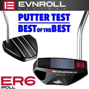 イーブンロール パター ER6-Black アイロール EVNROLL ベストオブベストパター 日本正規品 g-zone