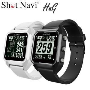 ショットナビ ハグ HUG GPSゴルフナビ 腕時計型|g-zone