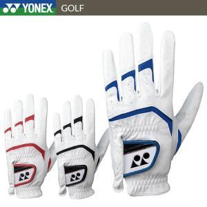 5点までメール便対応 ヨネックス レザーコンボ ゴルフグローブ メンズ ゴルフ 天然皮革+合成皮革 GL-150|g-zone