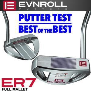 イーブンロール パター ER7 フルマレット EVNROLL ベストオブベストパター 日本正規品|g-zone