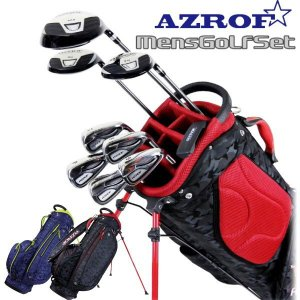 AZROF メンズ ゴルフクラブセット 9本+キャディバッグ|g-zone