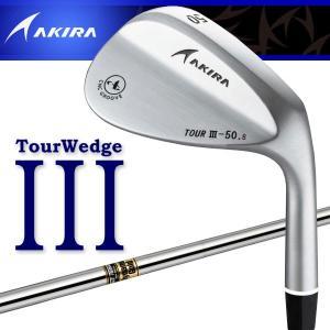 アキラ ゴルフ ツアーウェッジ3 クロムメッキ DynamicGold シャフト AKIRA TOUR WEDGE III g-zone