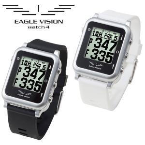 【ポイント15倍】 イーグルビジョン ウォッチ4 GPSゴルフナビ EV-717 EAGLE VISION Watch4|g-zone