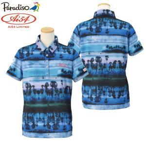 数量限定 パラディーゾ ゴルフウェア レディース 半袖ポロシャツ 宮里藍 Ai54 Limited PARADISO AIL02A 春夏 g-zone