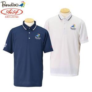 数量限定 パラディーゾ ゴルフウェア メンズ 半袖ポロシャツ 宮里藍 Ai54 Limited AIM01A 春夏|g-zone