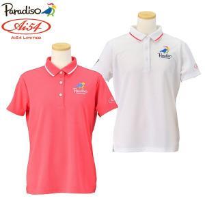 数量限定 パラディーゾ ゴルフウェア レディース 半袖ポロシャツ ビクトリー 宮里藍 Ai54 Limited AIL01A 春夏 g-zone