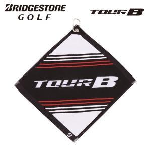 ブリヂストンゴルフ フック付ハンドタオル TWG71 TOUR B タオル g-zone