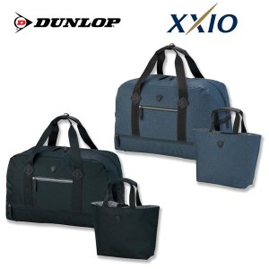 ダンロップ ゴルフ ツインバック GGF-B8009 XXIO ゼクシオ ボストンバック カートバック シューズポケット付 DUNLOP|g-zone