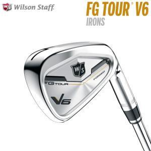 ウィルソン ゴルフ FGツアー V6 アイアン #5〜PW ...