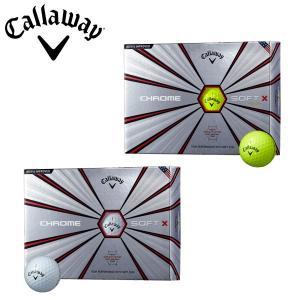 キャロウェイ ゴルフ クロムソフトX ゴルフボール 1ダース 12P 2018年モデル|g-zone