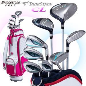 ブリヂストン ツアーステージ CL レディース ゴルフクラブセット クラブ8本+キャディバッグ|g-zone