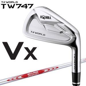 ホンマ ゴルフ TW747 Vx アイアン 6本セット Modus3 for T//World 2019モデル|g-zone