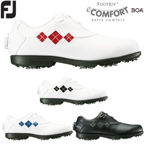 フットジョイ ゴルフシューズ レディース New eCOMFORT Boa イーコンフォート ボア 2018年モデル|g-zone