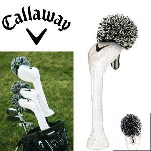 キャロウェイ ヴィンテージ ヘッドカバー フェアウェイウッド用 C20601 ホワイト ゴルフ アクセサリー USAモデル|g-zone