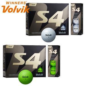 ボルビック ゴルフ S4 ゴルフボール 1ダース 12P ヴォルビック|g-zone