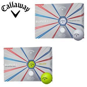 キャロウェイ ゴルフ スーパーソフト ゴルフボール 1ダース(12P) 2019モデル|g-zone