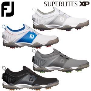 FOOTJOY 19 SUPERLITES XP  動きやすさとホールド性、安全性、快適性にグリップ...