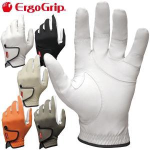 4点までメール便対応 エルゴグリップ 天然皮革 メンズ ゴルフグローブ EGO-1802 ErgoGrip|g-zone