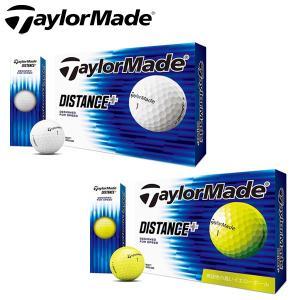 テーラーメイド ゴルフ ディスタンス プラス ゴルフボール 1ダース(12P) 2019モデル DISTANSE +|g-zone