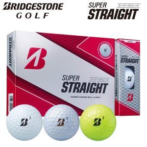 ブリヂストン ゴルフ スーパーストレート ゴルフボール 1ダース 12P 2019モデル|g-zone