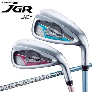 【期間限定】 ブリヂストン ゴルフ 2019モデル TOUR B JGR LADY アイアン 5本セット レディース|g-zone
