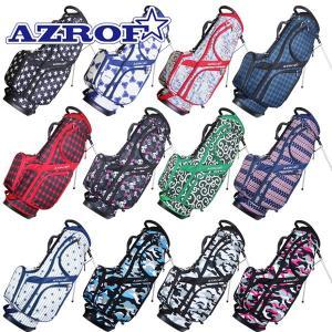 アズロフ ゴルフ スタンドキャディバッグ カラーNo.143-176 AZ-STCB01 9インチスタンドバッグ|g-zone
