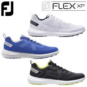 フットジョイ ゴルフ FJ フレックス XP ゴルフシューズ メンズ シューレース スパイクレス 2...
