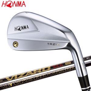 【期間限定】 ホンマ ゴルフ T//WORLD TR21 X アイアン 5本セット VIZARD T...