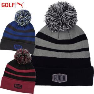 メール便対応 プーマ ゴルフ PWRWARM ボムビーニー 帽子 021695|g-zone