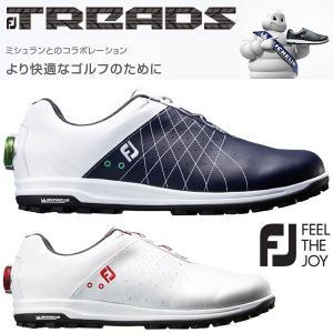 フットジョイ  FJ トレッド ボア ゴルフシューズ メンズ FJ TREADS Boa 2018モデル|g-zone