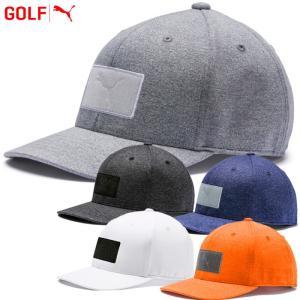 プーマ ゴルフウェア パッチ 110 スナップバック キャップ 帽子 021991 2019年春夏|g-zone