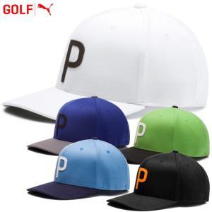 ○プーマ ゴルフ スローバック P 110 スナップバック キャップ 帽子 021776 2019年春夏|g-zone