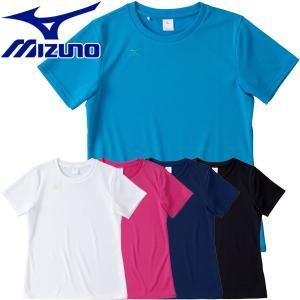 ミズノ NAVIドライ 半袖Tシャツ レディース 32MA5335|g-zone