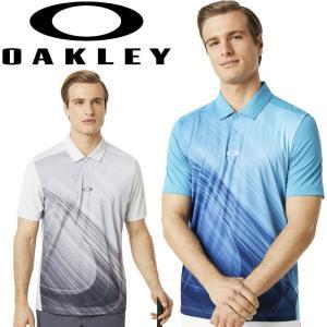 オークリー ゴルフウェア EXPLODED ELLIPSE GOLF 半袖 ポロシャツ 434310 2019春夏 30%OFF|g-zone