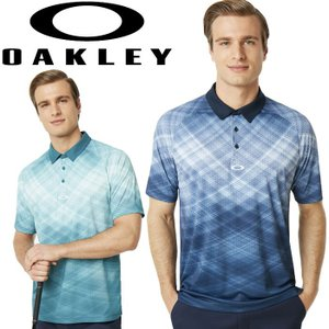 オークリー ゴルフウェア BARKIE GRADIENT GOLF 半袖 ポロシャツ 434312 2019春夏 30%OFF|g-zone