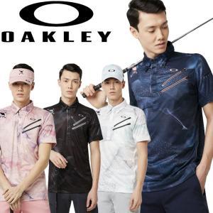 オークリー ゴルフウェア SKULL BREATHABLE グラフィック シャツ 434395JP 2019春夏 30%OFF|g-zone