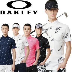オークリー ゴルフウェア SKULL DIAGONAL シャツ 434396JP 2019春夏 30%OFF|g-zone